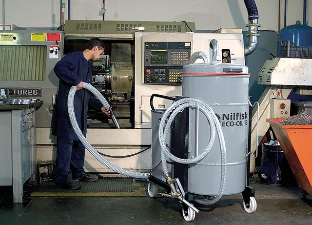 Пылесосы для уборки стружки со станков